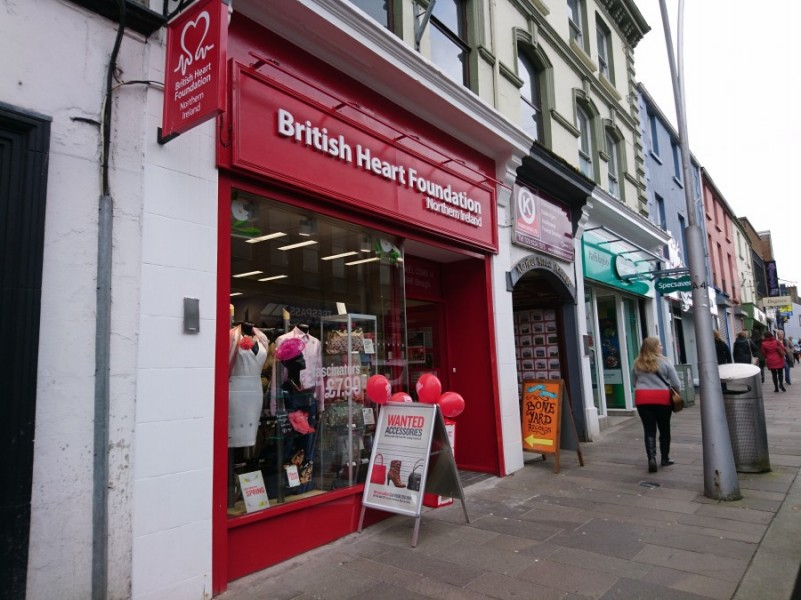 The British Heart Foundation open in Omagh