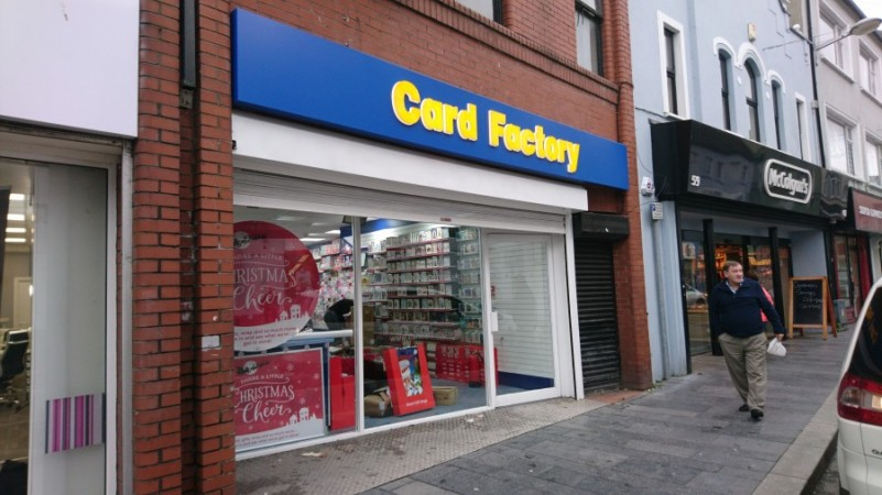 Card Factory open in Strabane