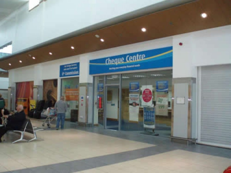 Cheque Centre opens at Park Centre, Belfast