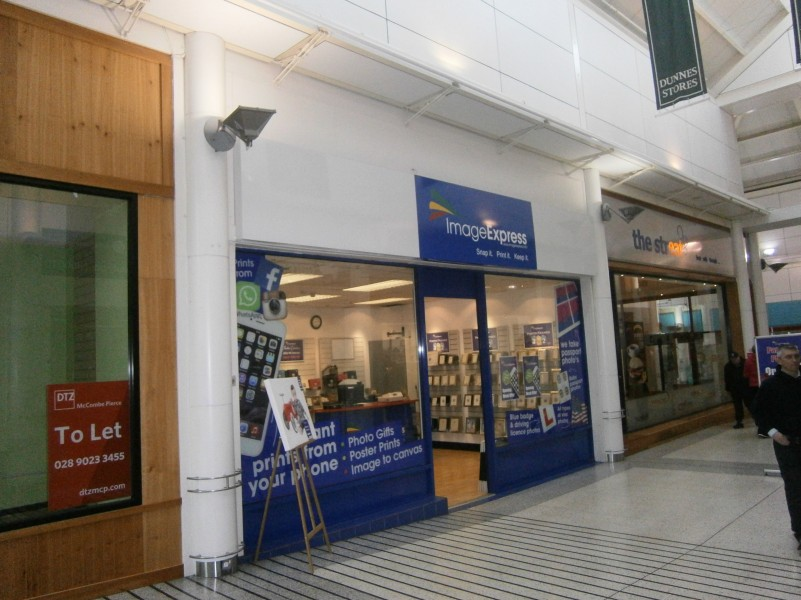 Murphy lease Kiosk to Image Express in Portadown
