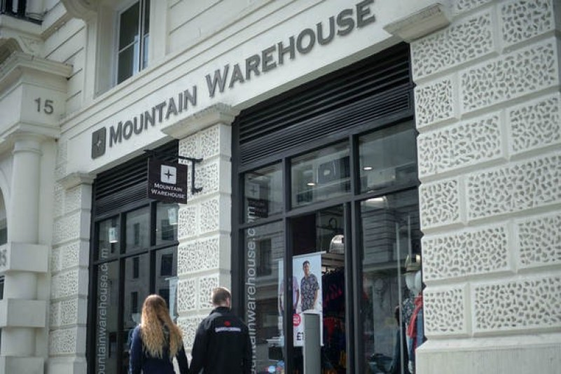 Mountain Warehouse have another good trading year