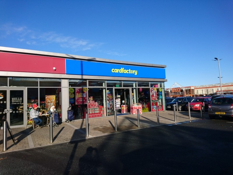 CARD FACTORY OPEN SECOND RETAIL WAREHOUSE UNIT IN NORTHERN IRELAND