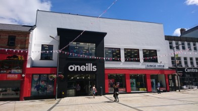 O'Neills open one of Ireland's largest sports store's in Derry