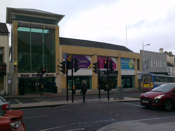 Portadown High Street Mall Shopping Centre