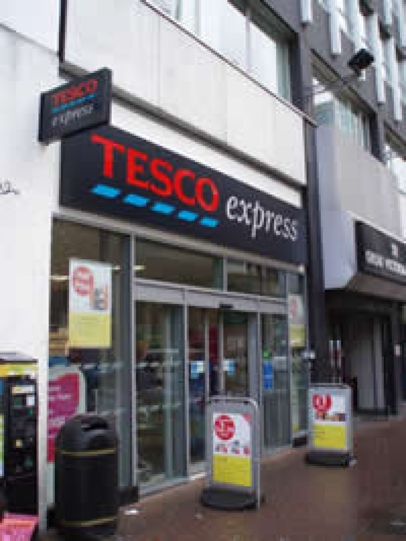Tesco Express opens on Great Victoria Street, Belfast