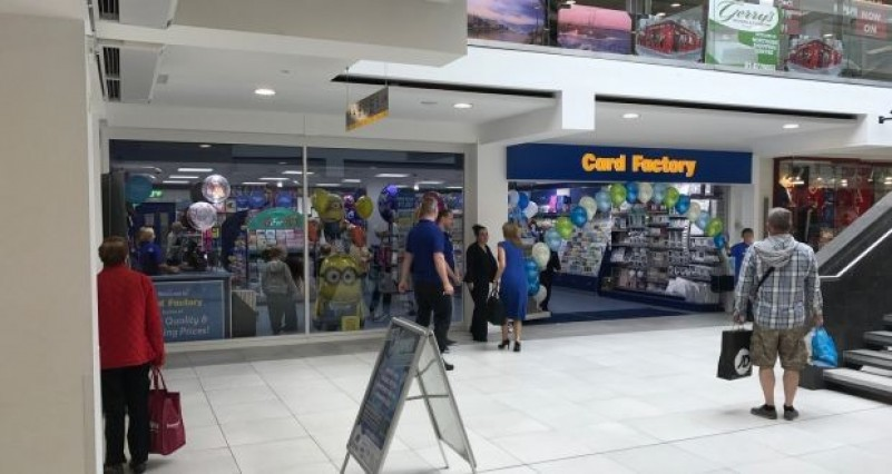 Card Factory to open six shops in Ireland