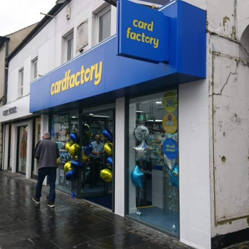 CARD FACTORY TO OPEN A SECOND STORE IN NEWTOWNARDS