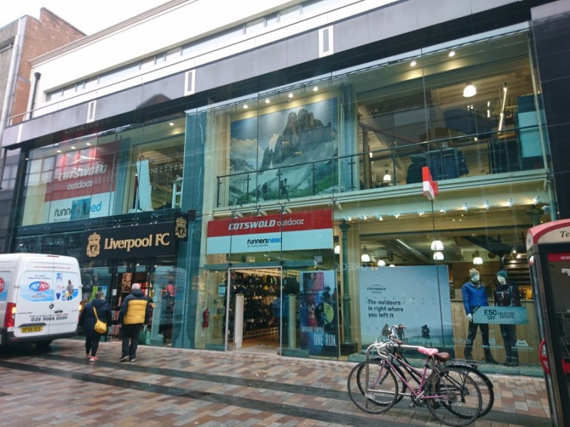 Cotswold renew lease in Belfast city centre