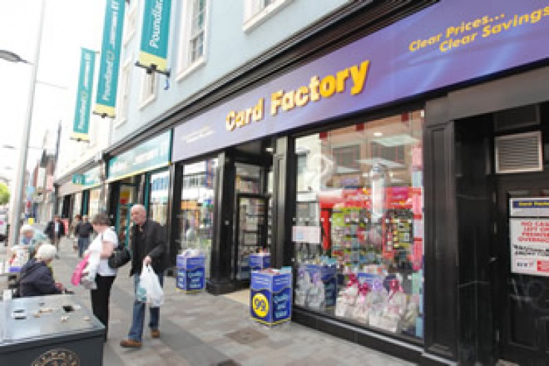 Card Factory open eight stores in Northern Ireland