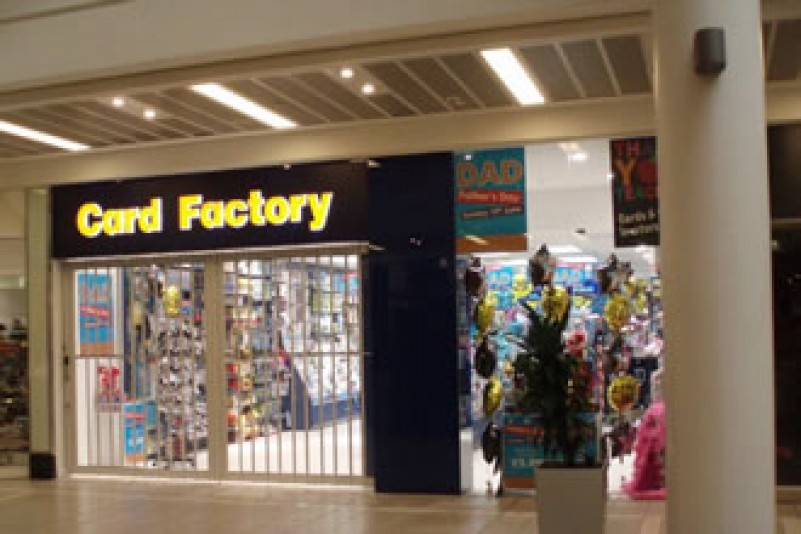 Card Factory opens in Castle Court with Murphys help