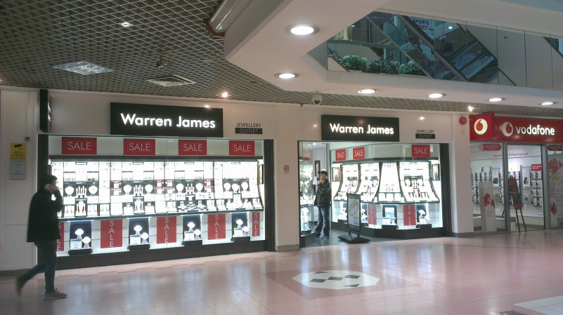 Warren James open in Derry with Murphy's help